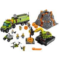 LEGO City Volcano Explorers Volcano Exploration Base 60124