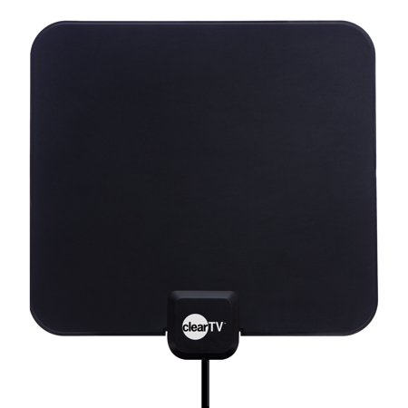 Clear TV HDTV Digital Indoor Antenna, Broadcast Network TV in HD (STAND NOT (Best Boostwaves Antennas For Tvs)