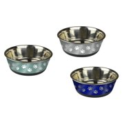 Pet Zone Stainless Steel Large Bowl