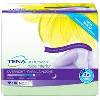 TENA Overnight Protective Underwear Heavy Absorbency, X-Large 47'' to 66'' - Case of 48