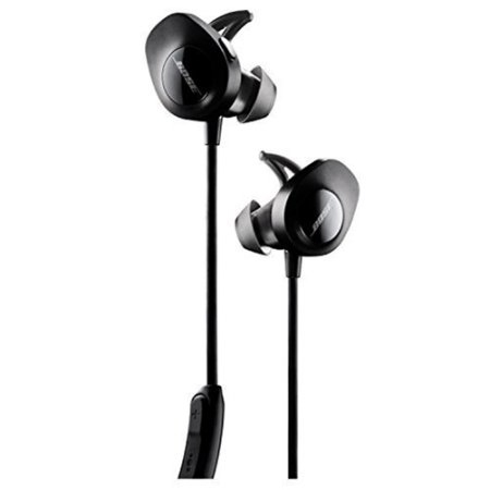 Bose SoundSport Wireless Headphones - Black (Bose Bluetooth Wireless Adapter)