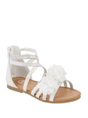 Wonder Nation Toddler Girls' Flower Gladiator Sandal