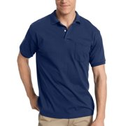 Men s Comfort Blend EcoSmart Jersey Polo with Pocket 4d84ab2691