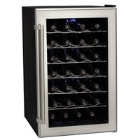 """Koldfront TWR282 18"""" Wide 28 Bottle Wine Cooler with Thermoelectric Cooling"""