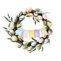 Way To Celebrate Hello Easter Egg Wreath