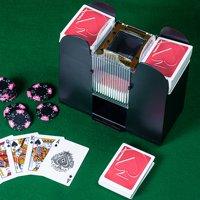 Card Shuffler, 6 Deck Automatic by Hey! Play!