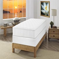 Signature Sleep Gold Triumph 8 Inch Reversible Independently Encased Coil Mattress and Foundation Set