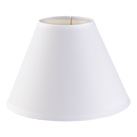Darice Lamp Shade: Plain White, Small, 4 x 9 x 6.5 (Deco Small Pendant Shade)