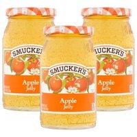 (3 Pack) Smucker's Apple Jelly, 18 oz