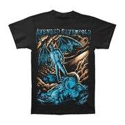 6ebf21feb Avenged Sevenfold Men's Going Nowhere Slim Fit T-shirt Black