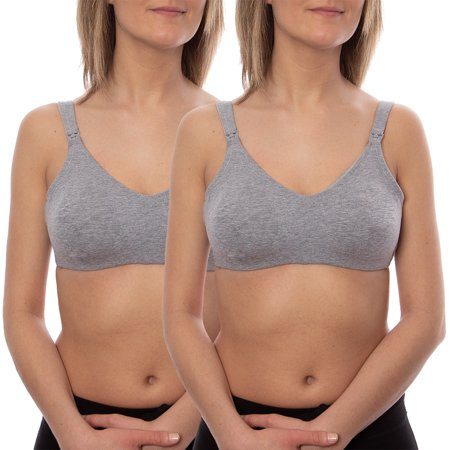 Maternity to Nursing Soft-Cup Bra 2 Pack, Style 86709