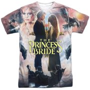 Princess Bride Romantic Comedy Fantasy Movie Poster Adult 2-Sided Print T-Shirt