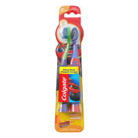 (2 pack) Colgate Kids Soft Toothbrush with Suction Cup, Blaze Value Pack - 2 Count