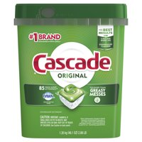 Cascade ActionPacs Dishwasher Detergent, Fresh Scent, 85 count