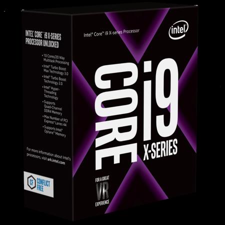 Intel Core i9-7900X Skylake-X 10-Core 3.3 GHz LGA 2066 Desktop Processor - BX80673I97900X (Intel I9)