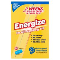 Energize Dietary Supplement Multi-Layered Time Release Tablets, 28 count