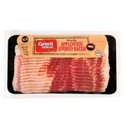Great Value Bacon, Applewood Smoked, 16 oz