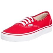 0421e51e4d Vans VN-0EE3RED  Unisex Authentic Skate Red Unisex Sneakers (8.5 US Men 10