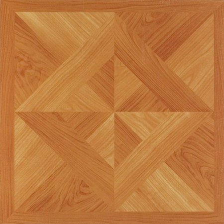 Achim Nexus Classic Light Oak Diamond Parquet 12x12 Self