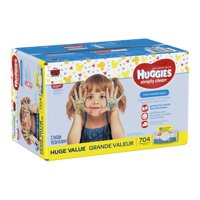 Huggies Simply Clean Baby Wipes, Fresh Scent (Choose Your Count)