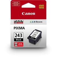 Canon PG-243 Black Ink Cartridge, Compatible to MX492, MG3020, MG2920,MG2924, iP2820, MG2525 and MG2420