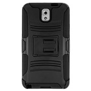 Samsung GALAXY Note 3 Case, Premium Hybrid Double Layer Armor Cover Protective Kickstand Back Case