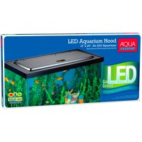Aqua Culture LED Aquarium Hood for 20/55-Gallon Aquariums