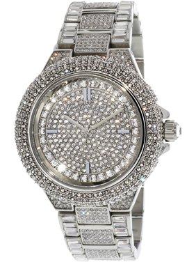 Women's Camille MK5869 Silver Stainless-Steel Japanese Quartz Fashion Watch