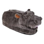 874db074bad91 Happy Feet Mens and Womens Hippo Animal Slippers