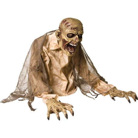 2' Gaseous Zombie Fogger Animated Prop - Halloween Zombie Baby Prop