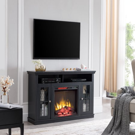 Bold Flame Monarch Fireplace Tv Stand Walmart Com