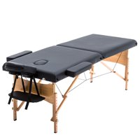 Best Massage Portable Massage Table Folding 84'' Professional Massage Bed with Free Carrying Bag