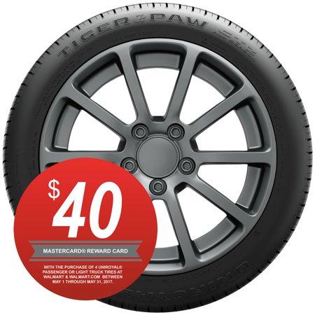 Uniroyal Tiger Paw Gtz All Season Tire 245 45zr18 96w Walmart Com