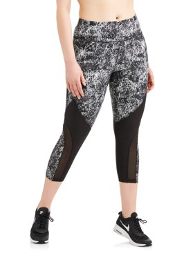 Avia Women's Plus Size Active Higher Ground Performance 22 Capri