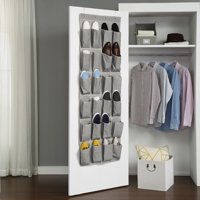 Better Homes & Gardens Charleston Collection 24-Pocket Over the Door Shoe Organizer