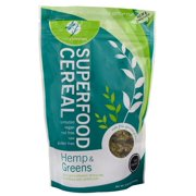 Living Intentions Superfood Cereal Snacks, Hemp & Greens, 9 Oz