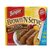 Banquet Brown 'N Serve, Original Sausage Links, 6.4 Ounce, 10-Count