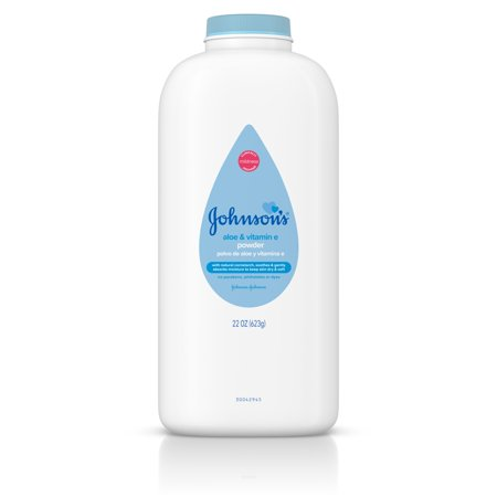 Timemist Baby Powder (Johnson's Baby Powder with Aloe & Vitamin E, 22 oz )