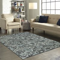 Deals on Better Homes & Gardens Distressed Scroll Print Area Rug