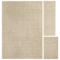 Mainstays Manchester Solid Shag 3-Piece Area Rug Set, Multiple Colors
