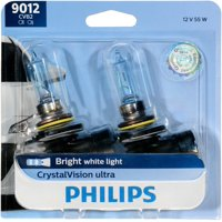 Philips CrystalVision Headlight Bulb 9012, Pack of 2