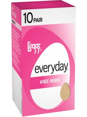 Women's Everyday Knee High Hosiery, 10-Pack