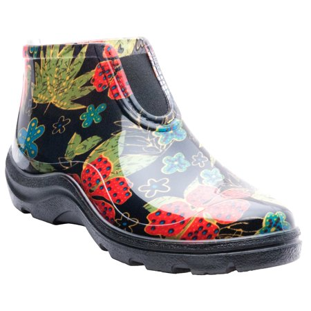 Sloggers Women's Rain & Garden Ankle Boots (Lower East Side Womens Meadows Ankle Boot)