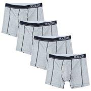 50e543cae6c2 FeelinGirl Mens 4 Packs Briefs Boxer Shorts Underwear Plus Size