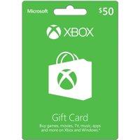 Microsoft Xbox Gift Card $50