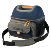 Best Igloo Mens Lunch Boxes - Igloo Outdoorsman Hardtop Gripper 22-Slate Blue/Tan, Blue Review