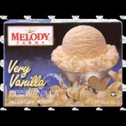 Melody Farms Very Vanilla Ice Cream, 144 oz