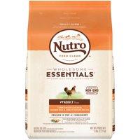 NUTRO WHOLESOME ESSENTIALS Adult Dry Dog Food Farm-Raised Chicken, Brown Rice & Sweet Potato Recipe, 5 lb. Bag