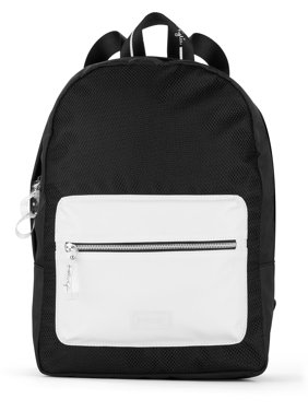 Kendall + Kylie for Walmart Black and White Colorblock Backpack