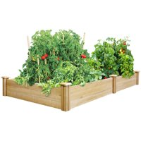 Greenes Fence Cedar Raised Garden Bed, Multiple Sizes